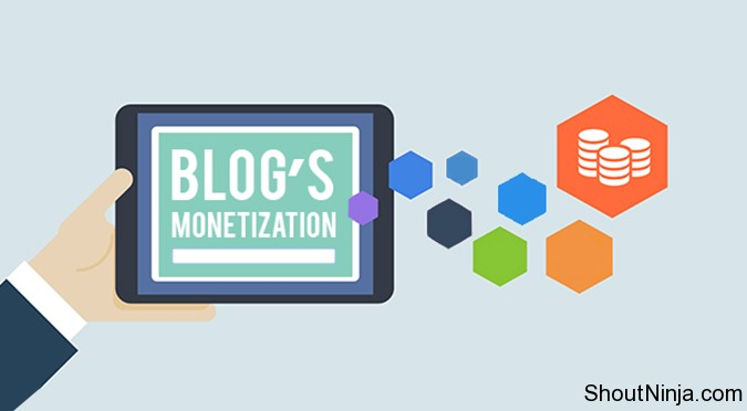 ways to monetize blog