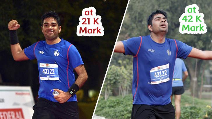 IDBI 21km vs 42 km
